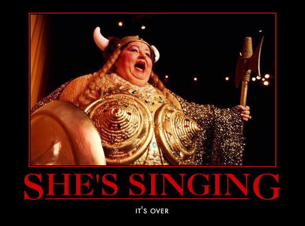 Afbeeldingsresultaat voor fat lady sings